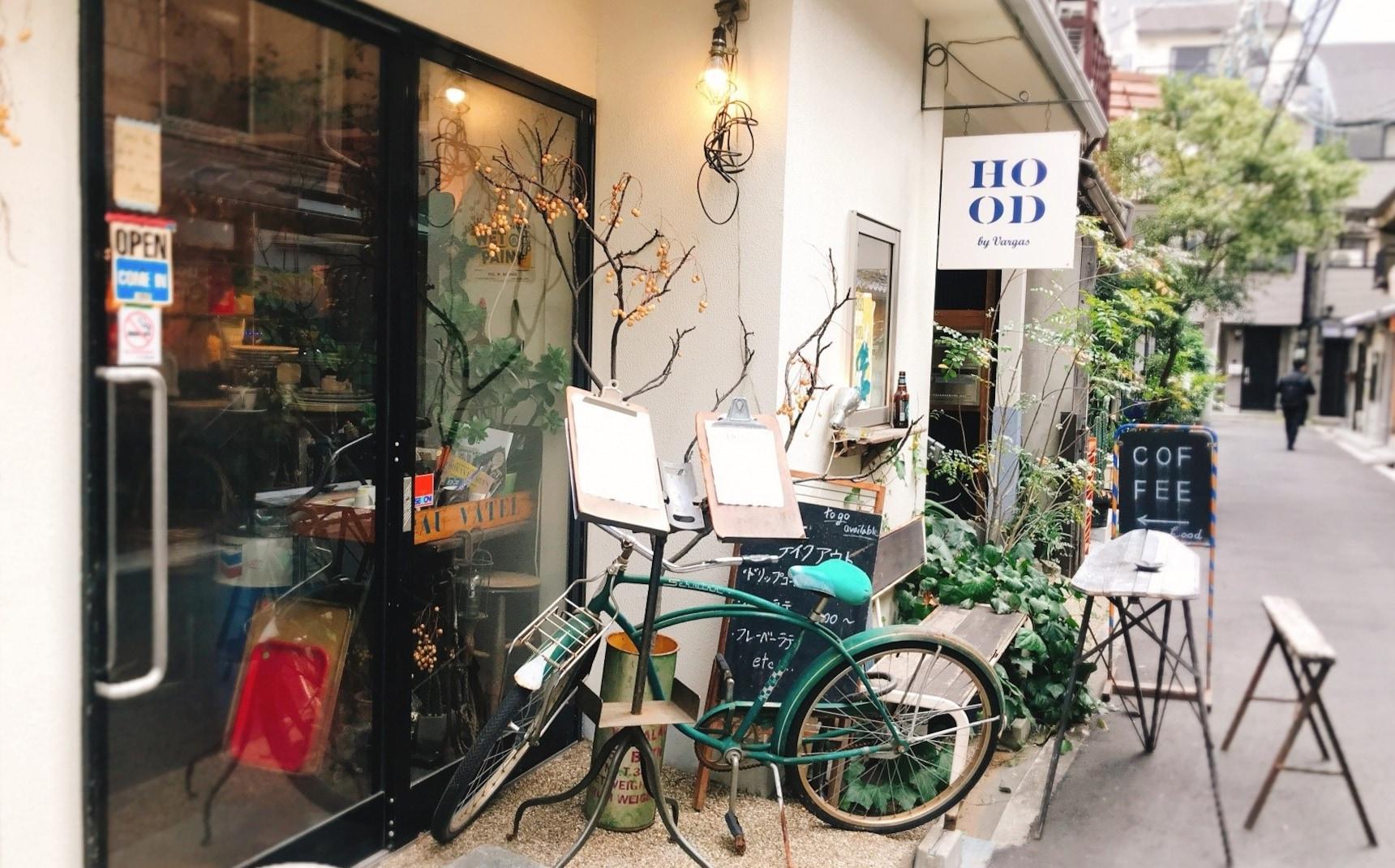 【大阪】开启一段美丽际遇:隐身在巷子中的咖啡厅「HOOD by Vargas」