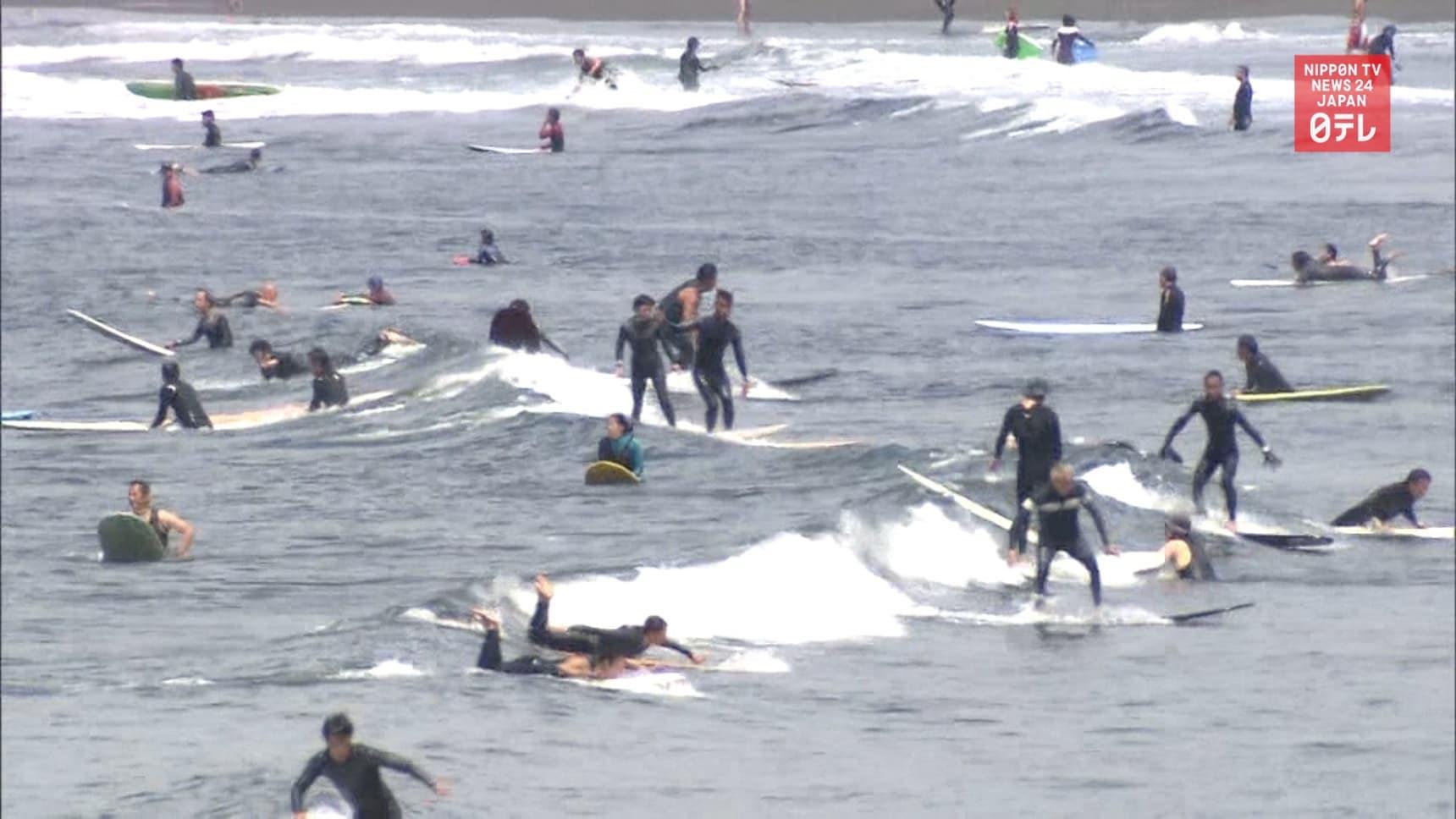 Kanagawa Beaches Reopen to Visitors
