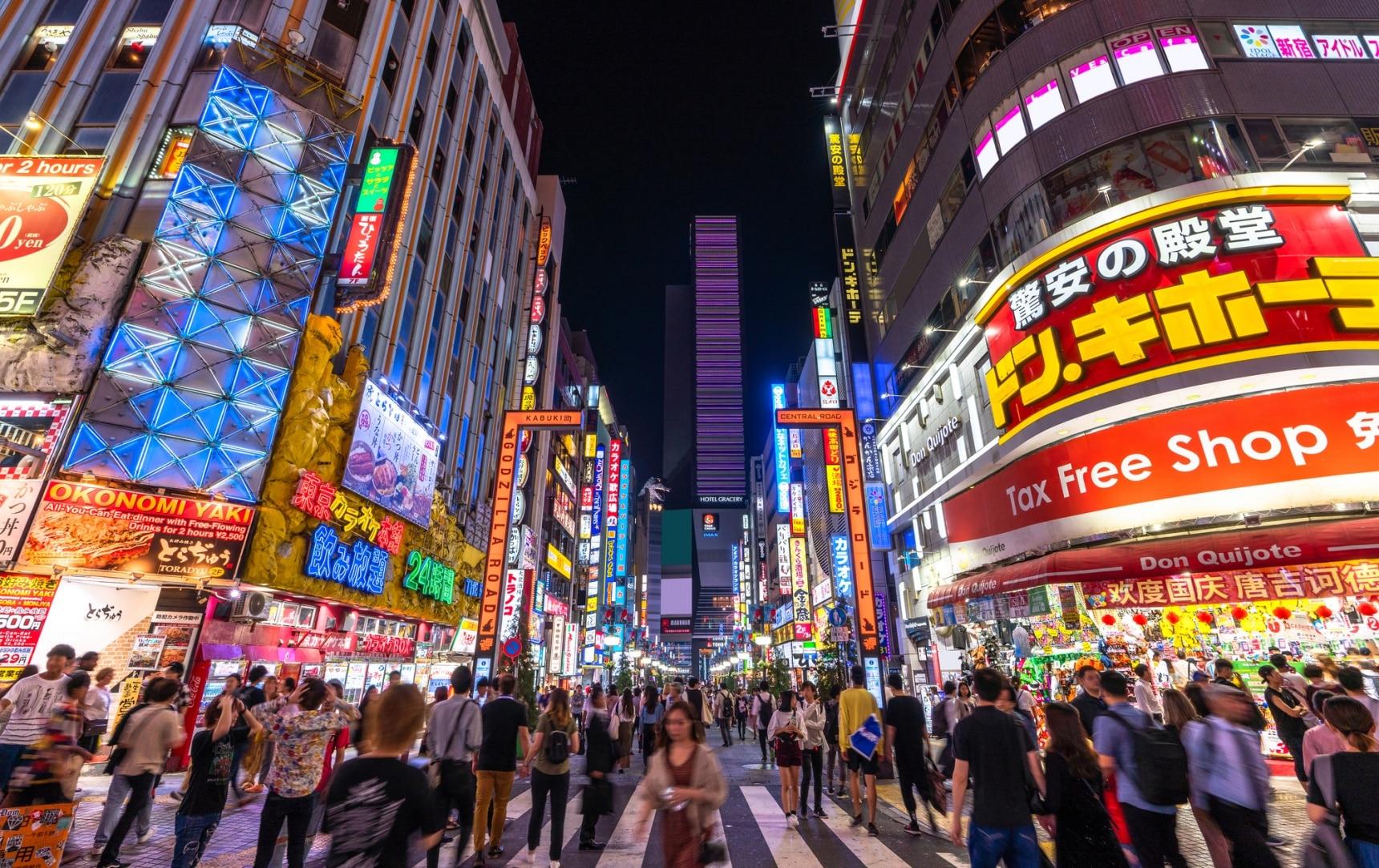 日本文化:被东京都知事点名!热闹非凡的新宿夜店,了解一下?