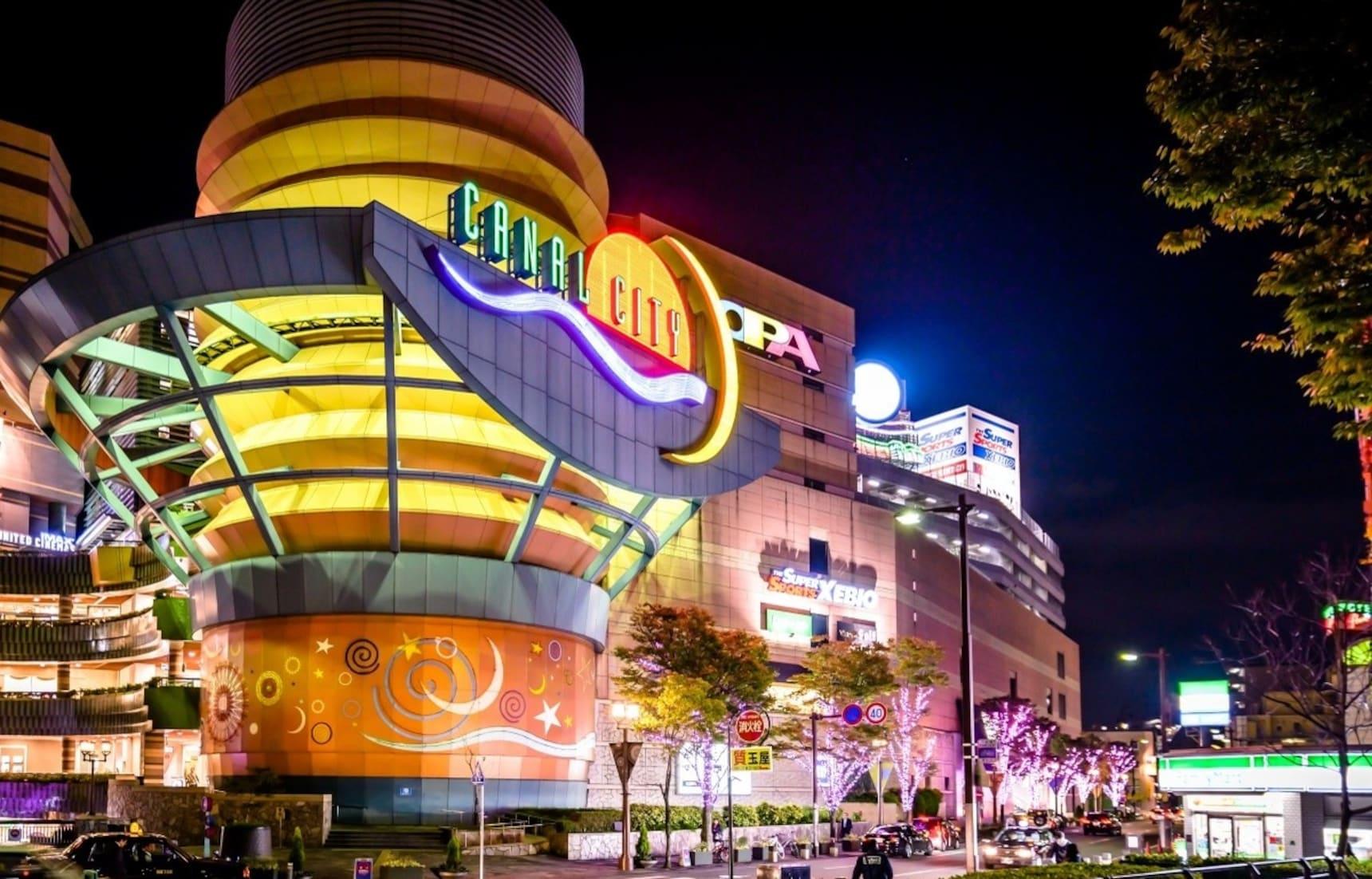 Canal City: Exploring Fukuoka's Luxury Mall