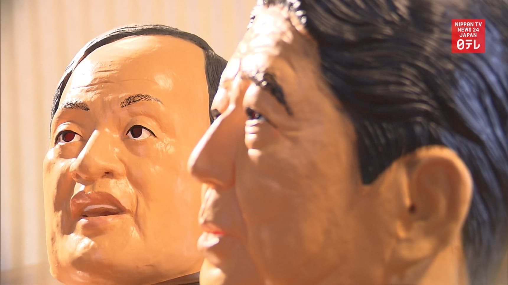 Post-Abe PM Contender Suga Masks on the Rise