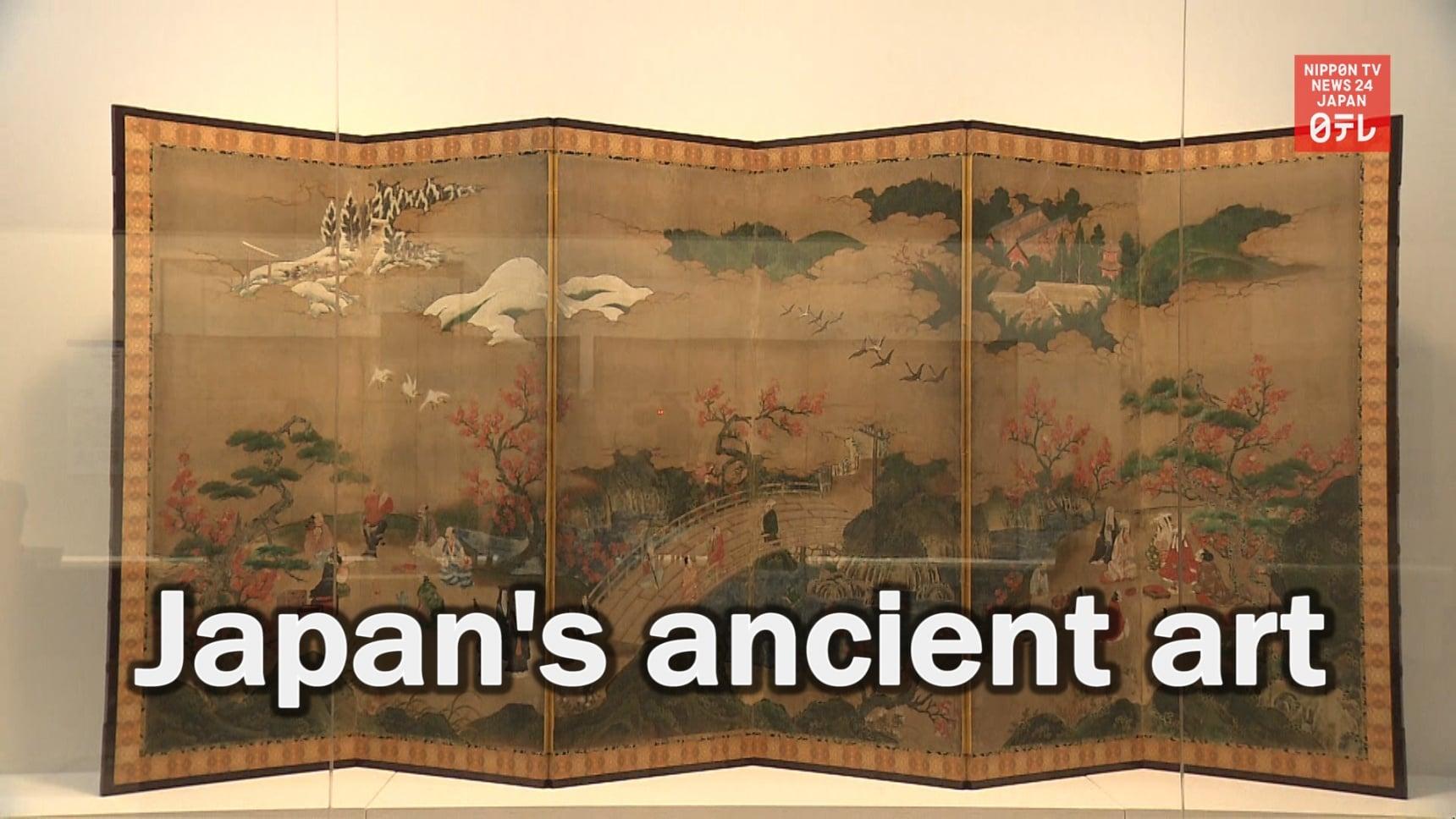 Japan's Ancient Art Exhibit in Tokyo