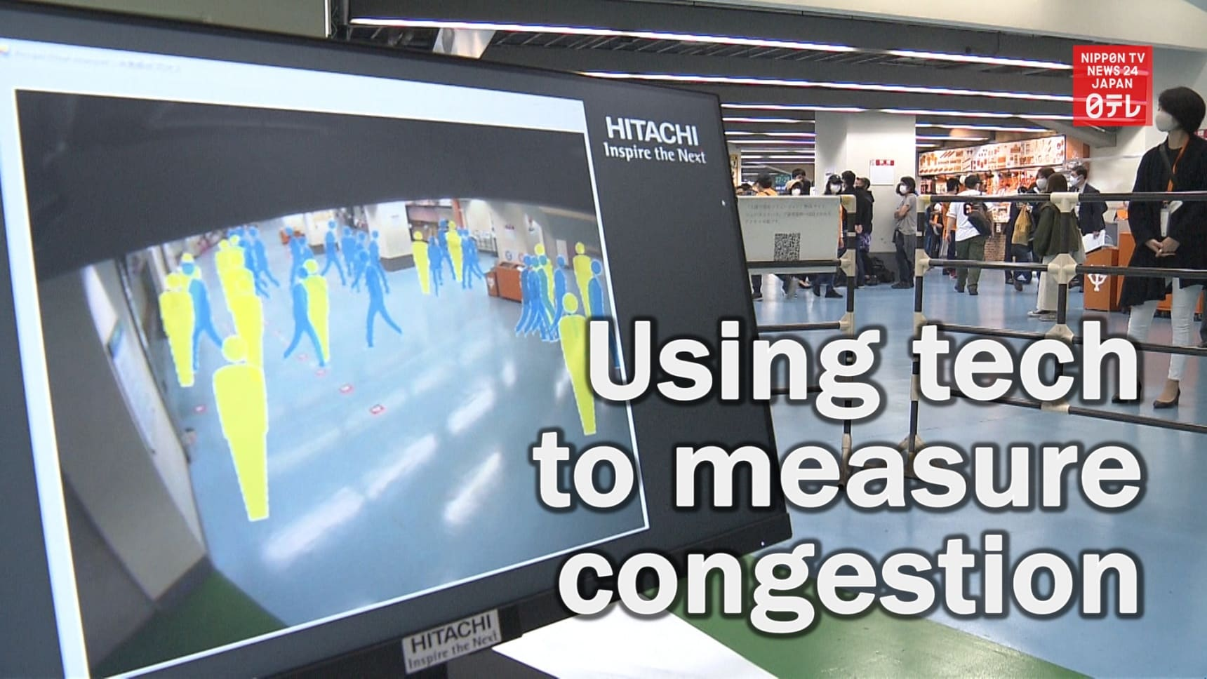 Tech That Measures Congestion in Indoor Areas