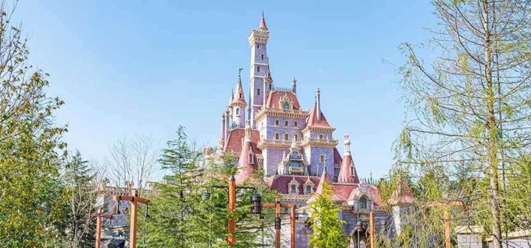 Beauty and the Beast at Tokyo Disneyland