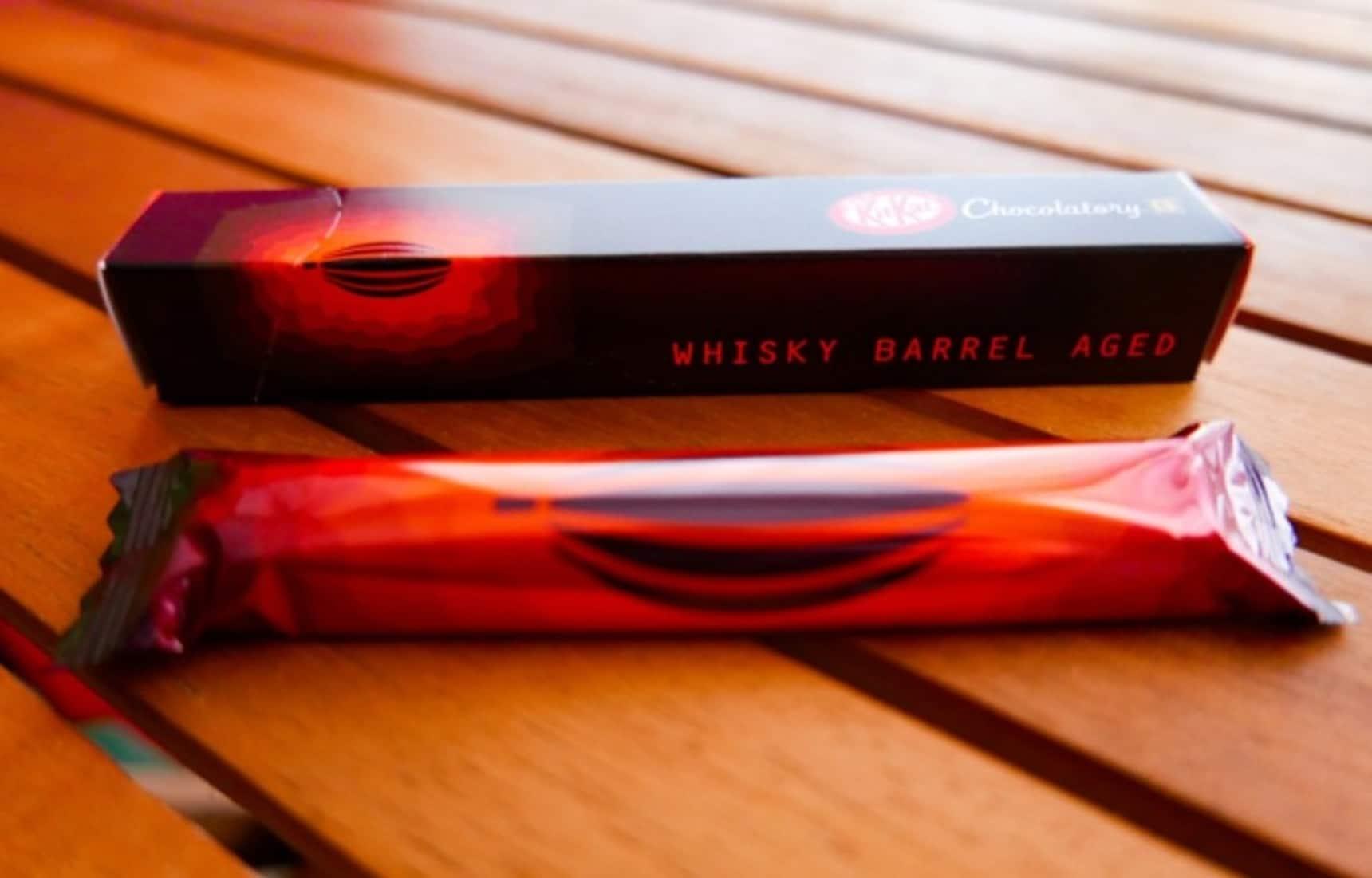 Whisky Barrel Aged Kit Kat Bringing Sexy Snaps