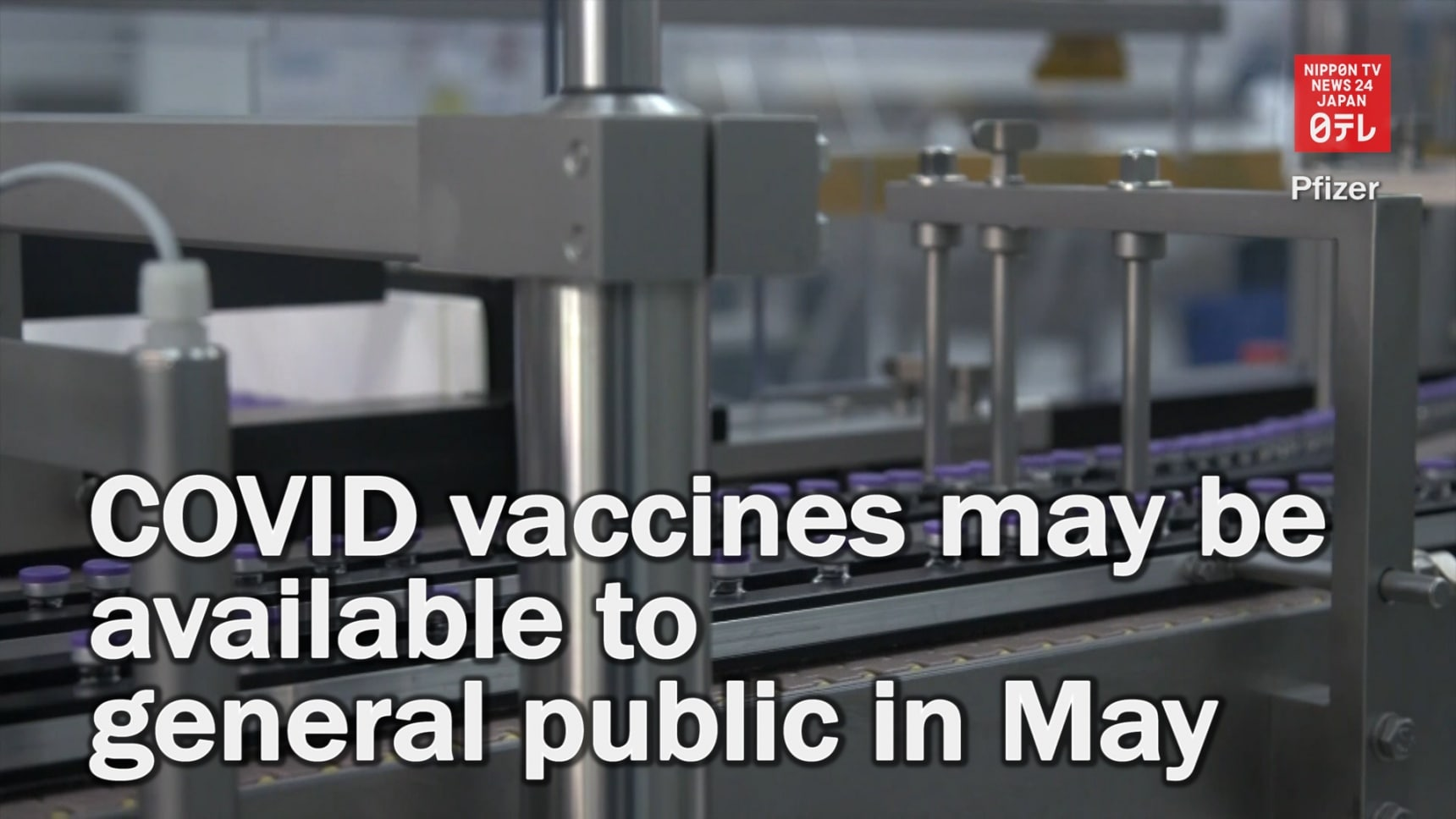 COVID Vaccines May Be Available in May