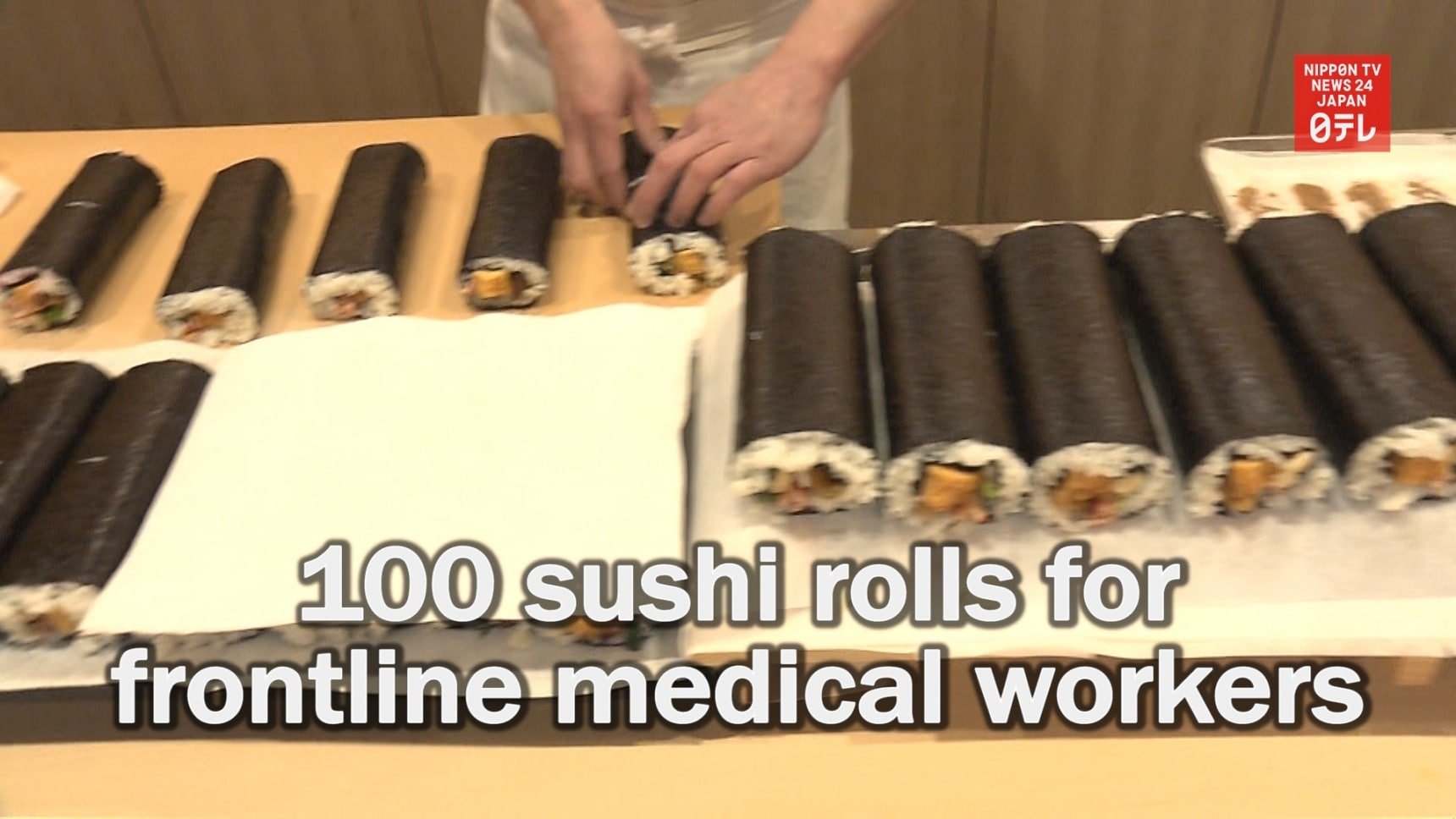 Seasonal Sushi Donated to Frontline Workers