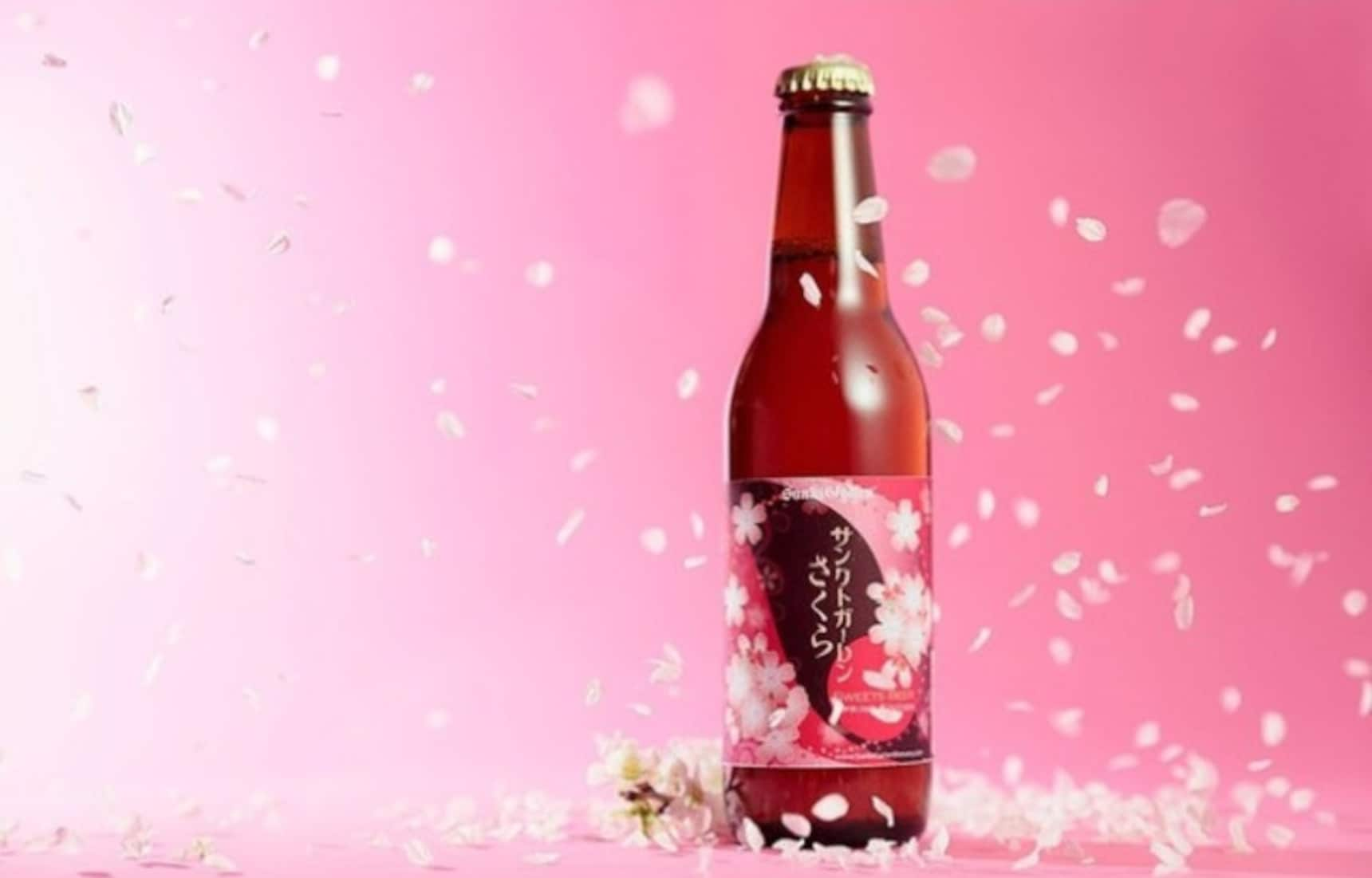 Sip on Springtime with Cherry Blossom Beer