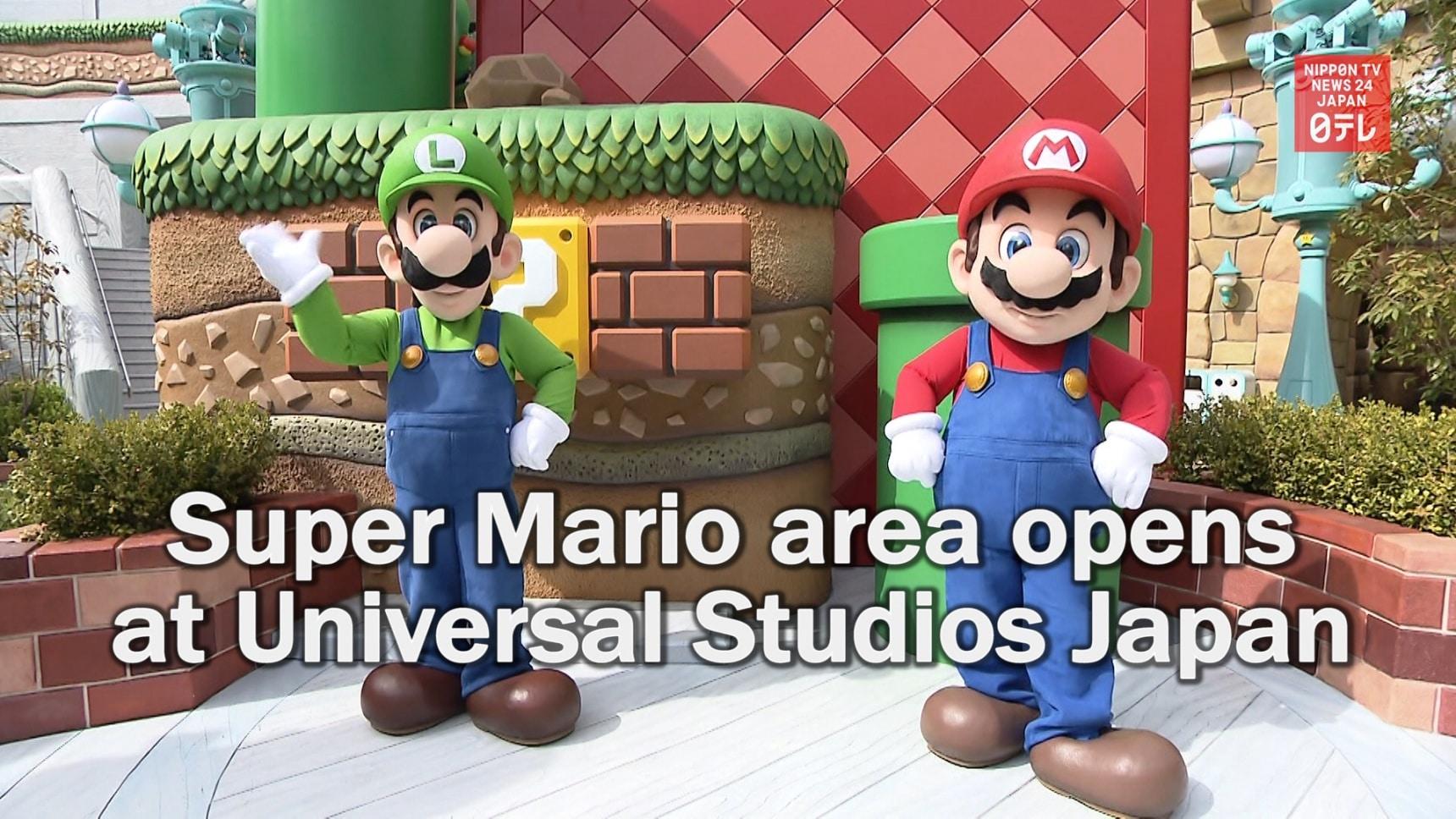 Super Mario Arrives at USJ!