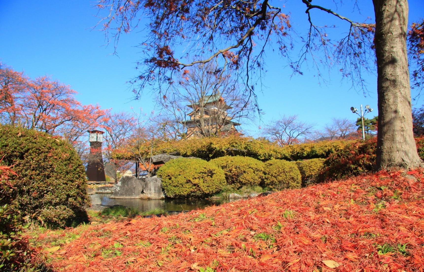 【長野自由行】諏訪古寺與古城的秋日紅葉巡禮