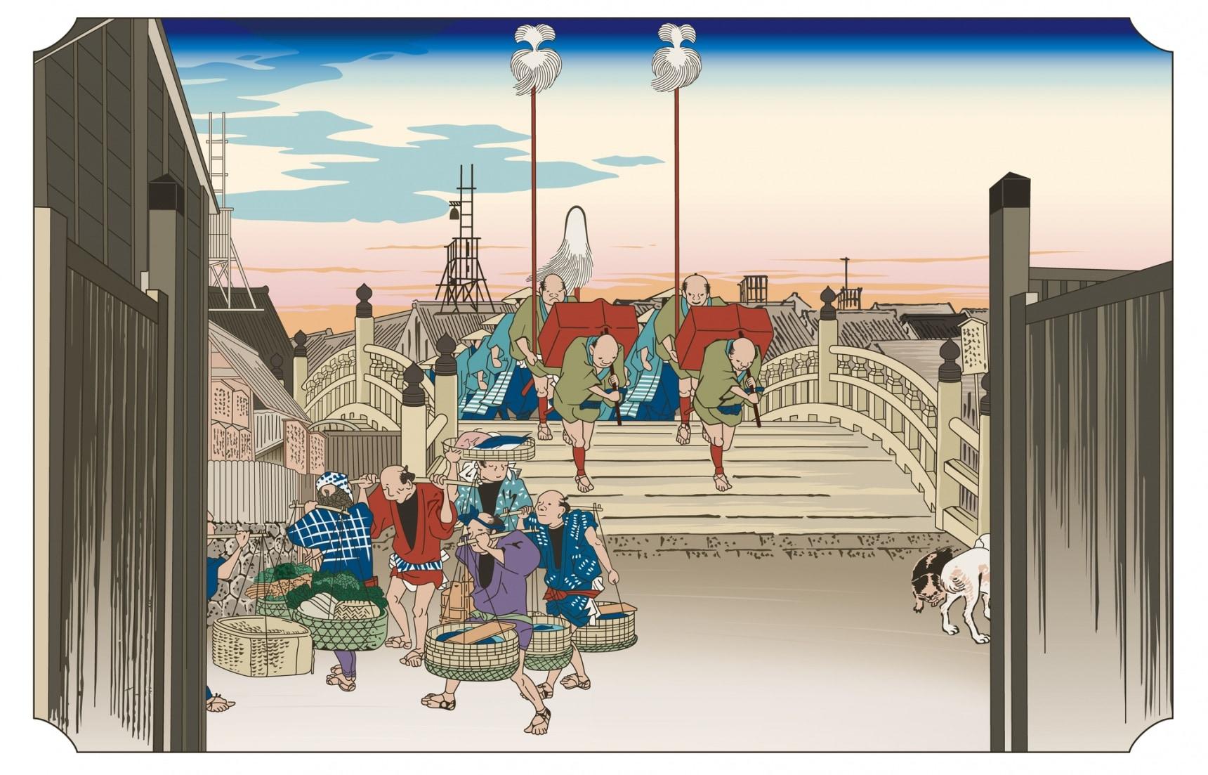 深度日本:东海道上走一遭——详解日本版画里的密码(一)