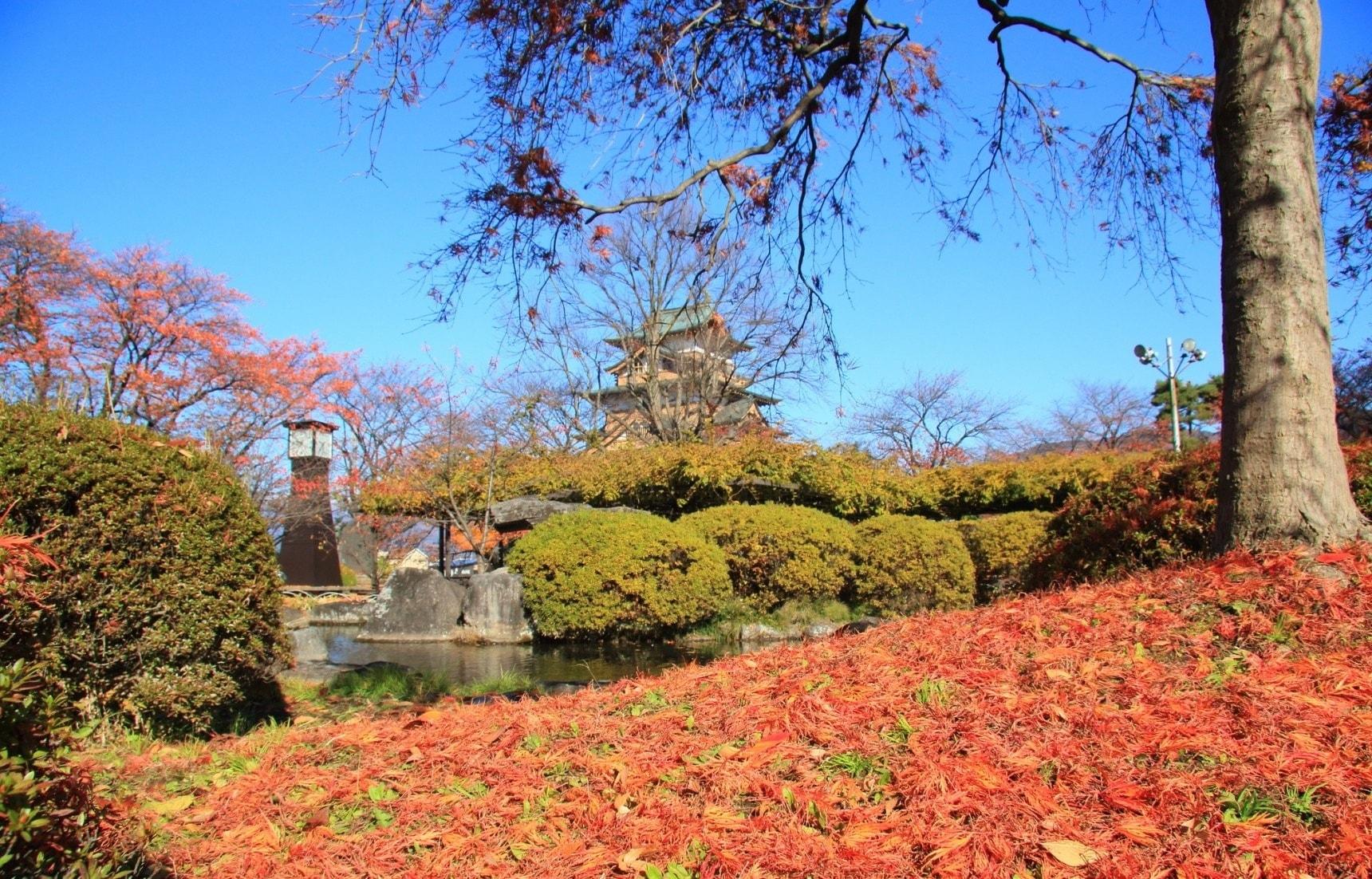 日本长野自由行:诹访古寺与古城的秋日红叶巡礼