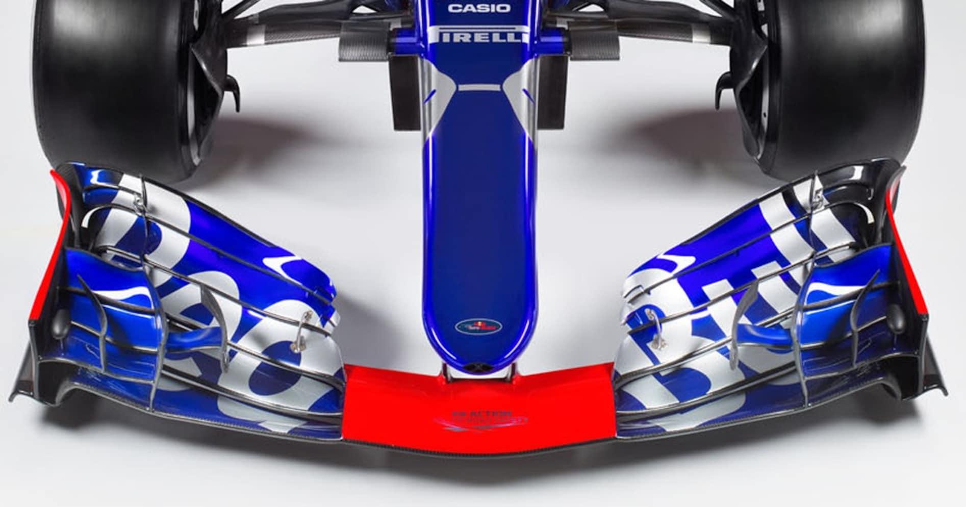 なぜF1のフロントウイングはこうも奇怪なデザインなのか?