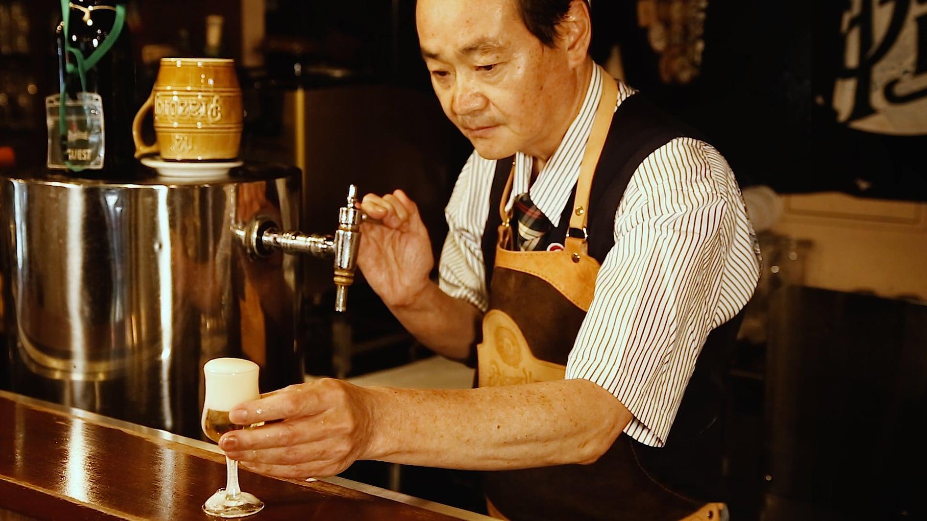 「缶ビールが美味しくなる注ぎ方」を名サーバー・松尾光平が伝授!