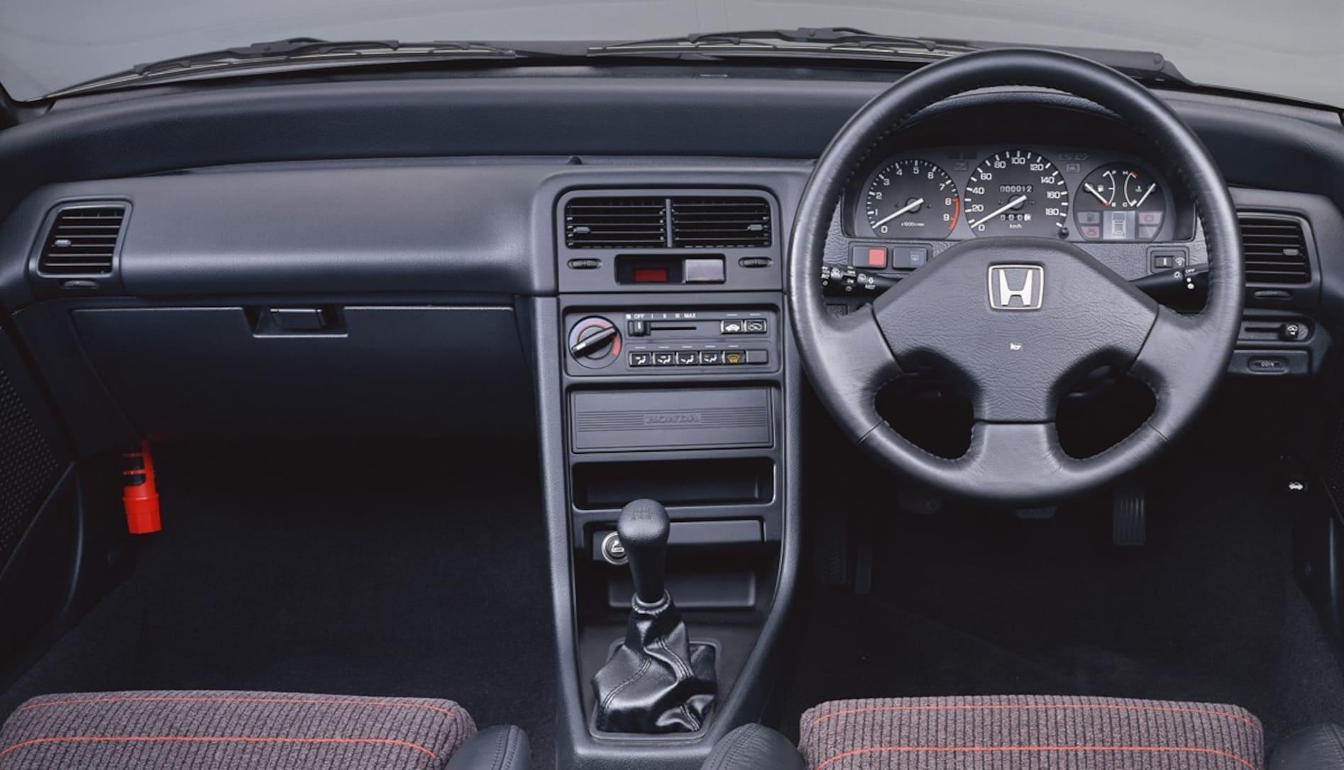 【中年名車図鑑|2代目 ホンダCR-X】走りにマトを絞ったVTEC搭載のサイバースポーツ