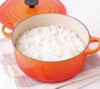 ホーロー鍋でご飯を炊く方法