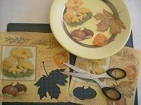 「デコパージュ」で秋のテーブルを演出 [ハンドメイド・手芸] All About