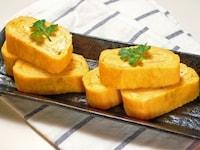 丸いフライパンでたまご焼きを綺麗に作れる