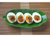 お手製ヤムドレッシングで ゆで卵のピリ辛おつまみ [毎日のタイ料理] All About