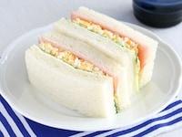レンジで作る、お手軽たまごサンドイッチ [簡単スピード料理] All About