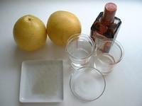 グレープフルーツゼリーの作り方・レシピ