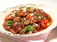 炊飯器で作る、さば缶とあさりのトマト煮込み