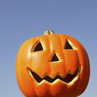どうせなら大きなかぼちゃを買ってきて本格的に