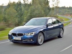 BMWの中核モデルとなる3シリーズ、セダン&ステーションワゴン。ライバルよりスポーティなテイストに仕立てられている