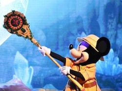 ドナルドダックが拾ってきた不思議な杖がストーリーの鍵になります