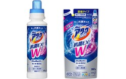 アタックZEROの2年前に発売された「アタックNeo(ネオ)抗菌EX Wパワー」(2019年3月販売終了)。日本の洗剤らしいパッケージ