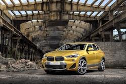 BMW X2のボディサイズは、全長4375×全幅1825×全高1535mm、ホイールベース2670mm。X2の価格帯は、4,360,000円〜5,150,000円