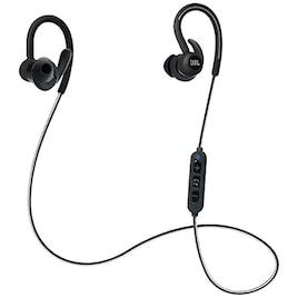 JBL ブルートゥースイヤホン[防汗仕様] 耳かけカナル型(ブラック) JBLREFCONTOURBLK 【ビックカメラグループオリジナル】