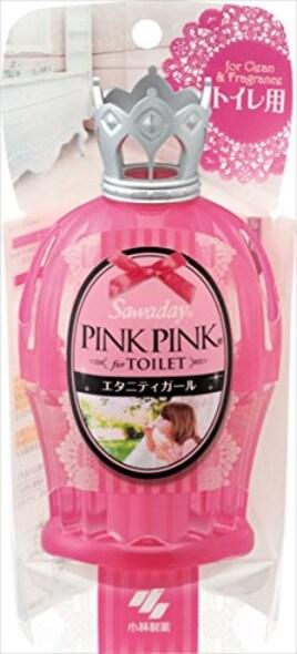 サワデーピンクピンク 消臭芳香剤 トイレ用 本体 エタニティガール 65ml