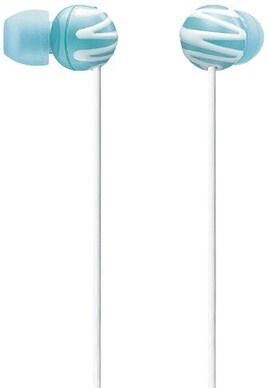 SONY カナル型イヤホン 女性向け ブルー MDR-EX25LP/LI