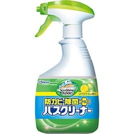 スクラビングバブル 浴室・浴槽洗剤 防カビ・除菌プラスバスクリーナー シトラスライムの香り 本体 400ml