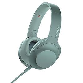 ソニー SONY ヘッドホン h.ear on 2 MDR-H600A : ハイレゾ対応 密閉型 リモコン・マイク付き 2017年モデル ホライズングリーン MDR-H600A G