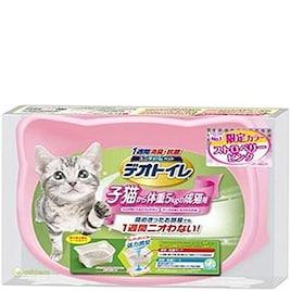 デオトイレ 子猫から体重5kgの成猫用 ストロベリーピンク