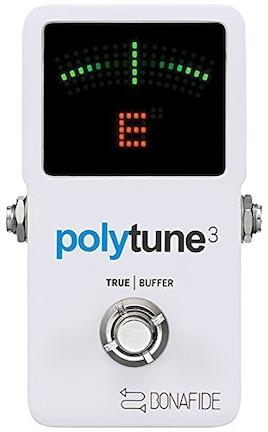 tc electronic PolyTune 3 バッファー内蔵 ポリフォニックチューナー