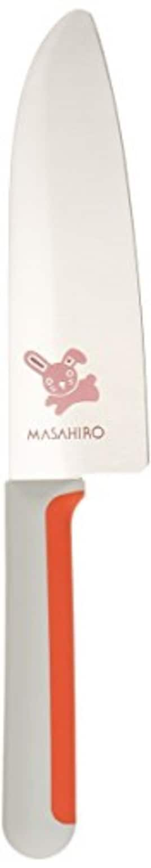 正広(マサヒロ) こども包丁 うさぎ(低学年向き) 右きき用 24347