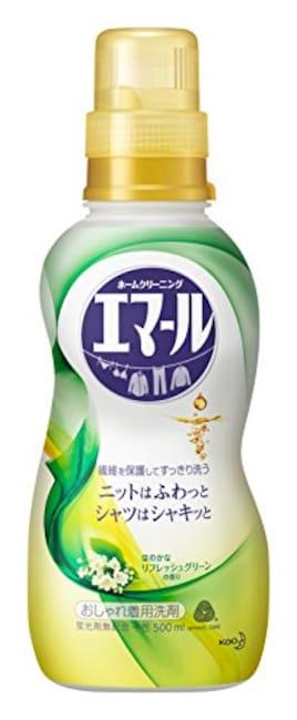 エマール 洗濯洗剤 液体 おしゃれ着用 リフレッシュグリーンの香り 本体 500ml