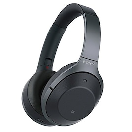 ソニー SONY ワイヤレスノイズキャンセリングヘッドホン WH-1000XM2 : ハイレゾ/Bluetooth対応 最大30時間連続再生 密閉型 マイク付き 2017年モデル ブラック WH-1000XM2 B