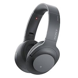 ソニー SONY ワイヤレスノイズキャンセリングヘッドホン h.ear on 2 Wireless NC WH-H900N : ハイレゾ/Bluetooth対応 最大28時間連続再生 密閉型 マイク付き 2017年モデル グレイッシュブラック WH-H900N B
