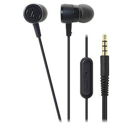 オーディオテクニカ スマートフォン用インナーイヤーヘッドホン ブラック ATH-CKL220iS BK