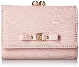[サマンサタバサプチチョイス] リボンがまぐちシリーズ 折財布  00121710200112 20 ピンク