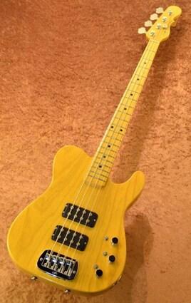 G&L USA Series  ASAT BASS Nitro Butterscotch Blonde