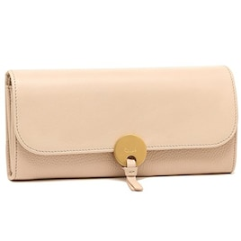 クロエ 財布 CHLOE 3P0809 H8J B59 INDY LONG WALLET WITH FLAP 長財布 CEMENT PINK [並行輸入品]