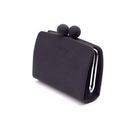 シリコンがま口財布 (ブラック)