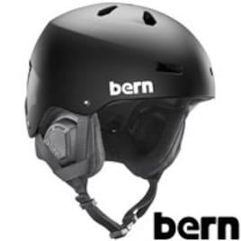 bern バーン スノーボード ヘルメット MACON メーコン BE-SM22 MatteBlackwBlack XL