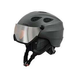 ALPINA(アルピナ) スキーヘルメット 2018 GRAP VISOR HM グレイマット A9093333 バイザーヘルメット 17-18 グラップ バイザー HM 57-61cm