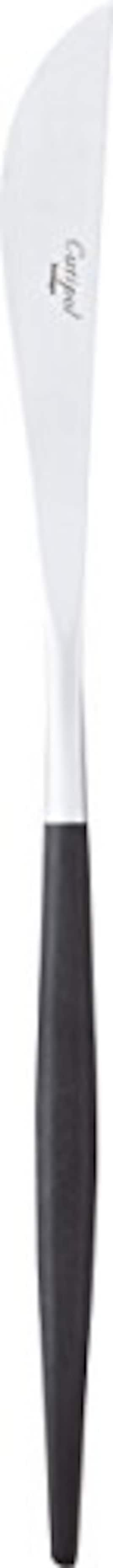 クチポール テーブル ナイフ GOA シルバー×ブラック GO.03